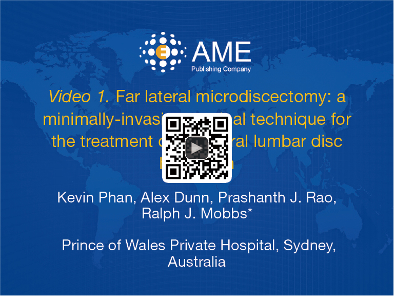 figure 1 far lateral microdiscectomy a minimally invasive surgical technique for the treatment of far lateral lumbar disc herniation 13